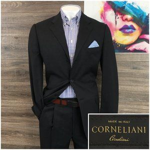 Corneliani Wool 2 Piece Suit Mens Size 42L  W34x34